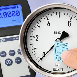 Calibração rastreada inmetro